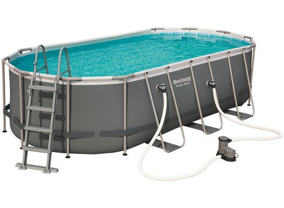 Schwimmbecken Power Steel Oval Pool Set Online Kaufen Mobelix