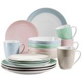 Kombiservice Kitchen Time II 16-Tlg. - Beige/Rosa, Basics, Keramik