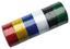 Isolierband 6 teilig - Blau/Gelb, KONVENTIONELL, Kunststoff (1,9cm)