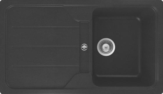 Mosogatótálca Isar - fekete, műanyag (86/50cm)