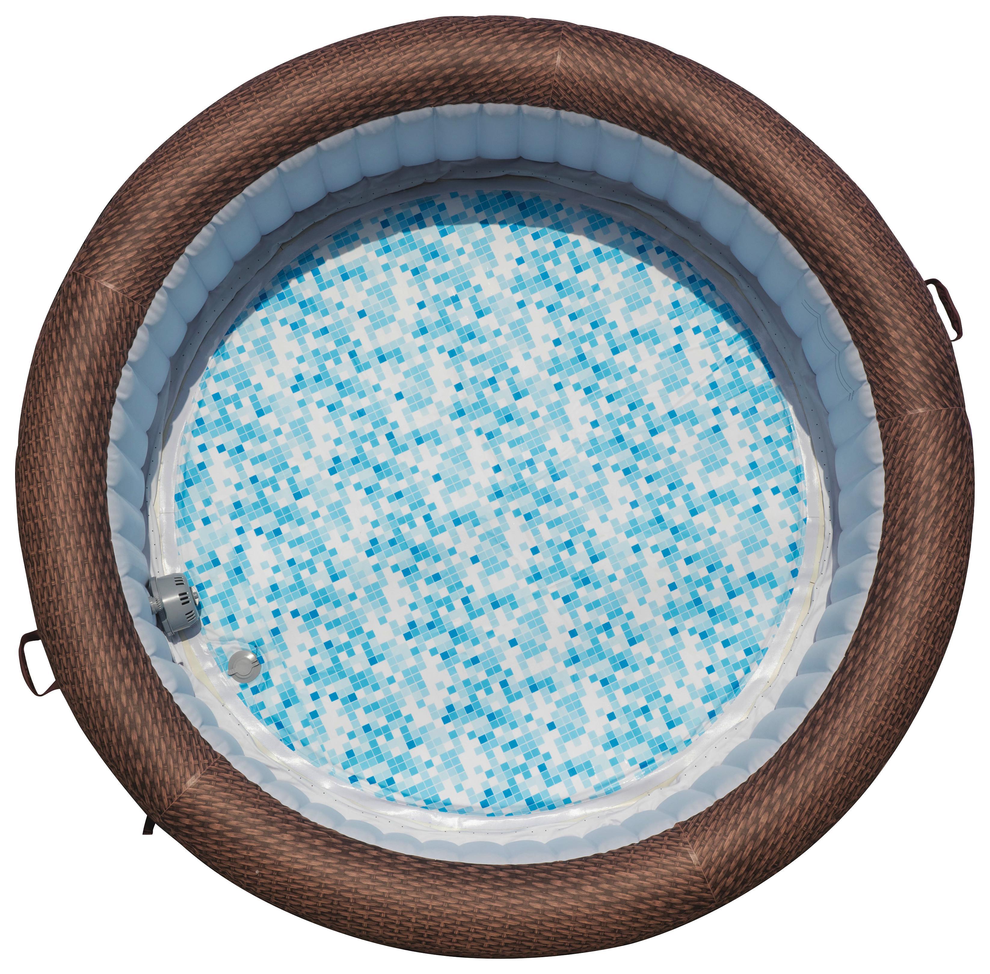 Aufblasbarer Whirlpool mit digitaler Steuerung