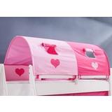 Tunnelset 2er Pink/ Rosa - Pink/Rosa, Design, Textil (180/13/16cm)