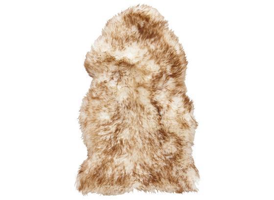 Kůže Ovčí Lea - světle hnědá, Romantický / Rustikální, textil (60cm) - Mömax modern living