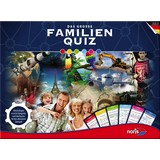 Strategiespiel Das Große Familienquiz - Multicolor, Basics, Karton/Holz (6,5/36,9/27cm)