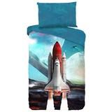 Bettwäsche Spaceshuttle - Multicolor, MODERN, Textil (140/200cm)