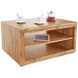 Konferenční Stolek Tizio - barvy dubu/barvy stříbra, Moderní, kompozitní dřevo (100/47/69cm)