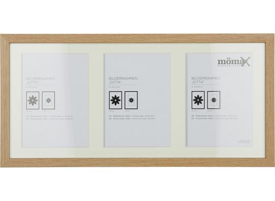 Rám Na Obrazy Gitta - barvy dubu, dřevo/kompozitní dřevo (50/23/3,6cm) - Mömax modern living