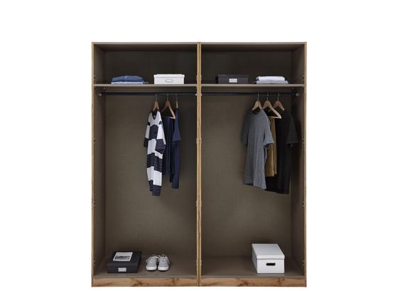 Kleiderschrank Unit Schrank Offen,breit ca.182,2cm - Weiß, MODERN, Holzwerkstoff (182,2/210/56,5cm) - Ombra