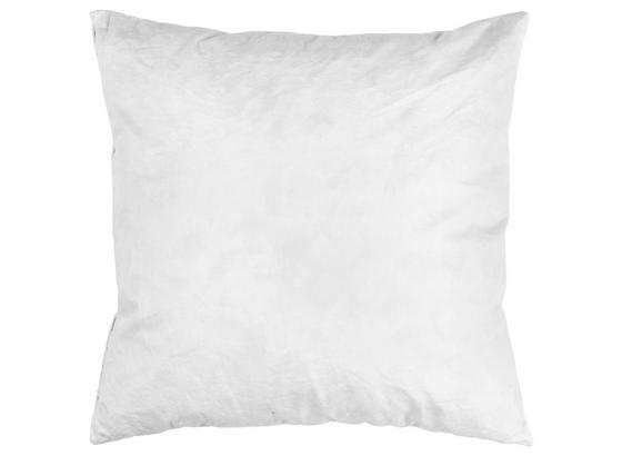 Vankúš Fride - biela, textil (40/40cm)