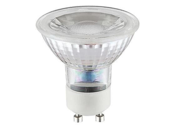 Led Žiarovka 10705 - biela/chrómová, kov/sklo (5/5,3cm)