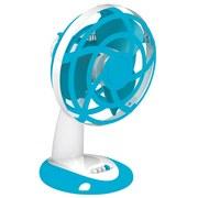 Tischventilator Blue - Blau/Weiß, KONVENTIONELL, Kunststoff (30cm)