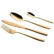 Besteckset Lausanne 24-Tlg Gold - Goldfarben, Basics, Metall (24/12/3,5cm)