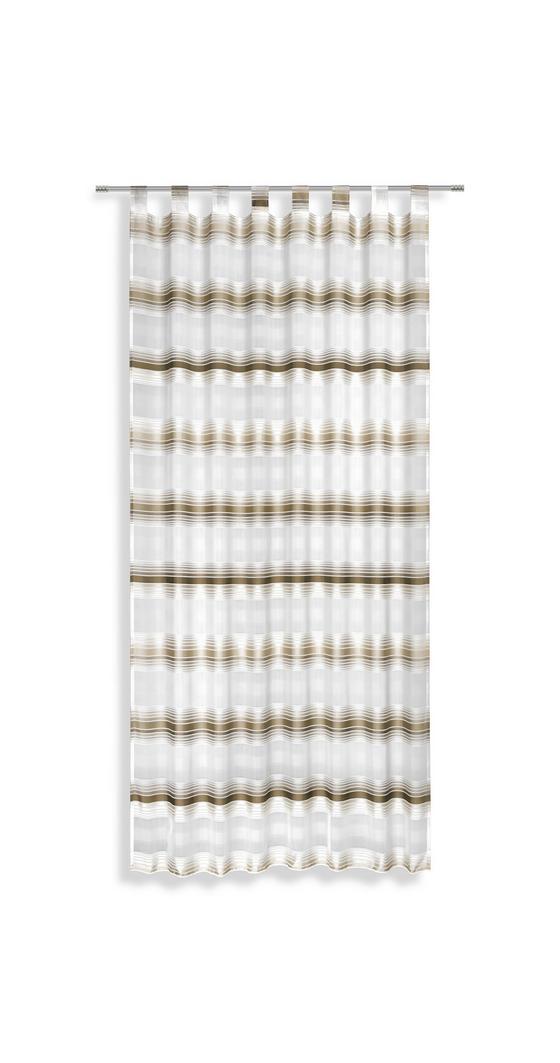 Kombivorhang Fianna - Braun, KONVENTIONELL, Textil (140/245cm) - Luca Bessoni