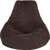 Ülőzsák Verona - Barna, Textil (90/105/90cm)