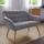 Pohovka Monique - svetlosivá, Moderný, drevo/textil (127/76/74,5cm) - Mömax modern living