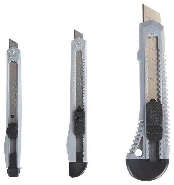 Cutterset 3 teiliges Set - KONVENTIONELL, Kunststoff/Metall