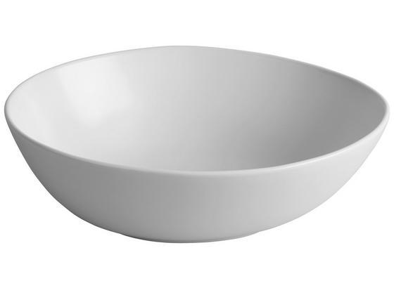 Miska Nele - biela, Moderný, keramika (26,2/22,3/8cm) - Premium Living