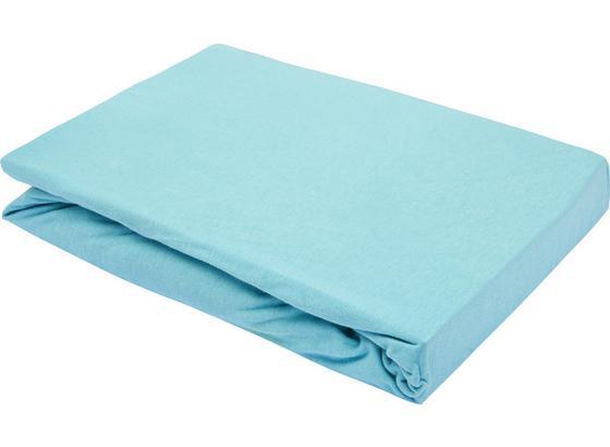 Prostěradlo Napínací Basic - mátově zelená, textil (180/200cm) - Mömax modern living