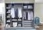 Sada Vkladacích Políc Advantage,level, 3-jitý Set - sivá, Moderný, drevo/kompozitné drevo (48 2 50cm) - Ombra