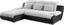 Sedací Souprava Multi - šedá/černá, Moderní, textilie (184/260cm)