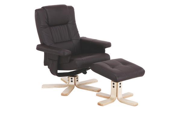 Relax Fotel Star - Barna, modern, Fa/Fém (78/94/76cm) - James Wood