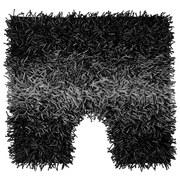 WC-vorleger Holland - Schwarz, KONVENTIONELL, Textil (45/50cm) - OMBRA