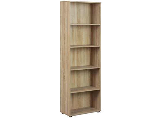 Standregal Parini B: 60 cm Sonoma Eiche - Sonoma Eiche, Basics, Holzwerkstoff (60/180/30cm) - Livetastic