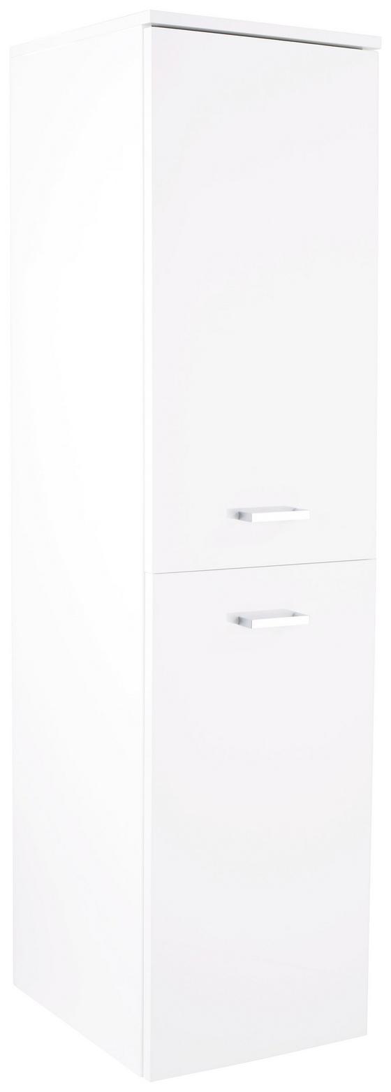 Midischrank Bergamo - Weiß, KONVENTIONELL, Holzwerkstoff (40/142,8/33cm)