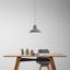 Závesná Lampa Madita - sivá, Moderný, kameň (30/123cm) - Modern Living