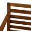 Loungegarnitur Dison - Braun/Grau, MODERN, Holz (175/65/74cm) - Greemotion