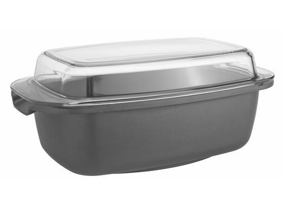 Pekáč Toskana - černá/čiré, Romantický / Rustikální, kov/sklo (32/20,5/17cm) - Mömax modern living