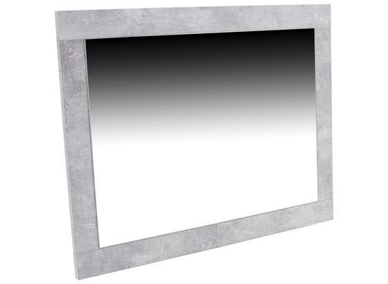 Nástenné Zrkadlo Malta - sivá, Moderný, kompozitné drevo (95/68/2,1cm)
