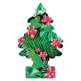 Wunderbaum Jungle Fever - Hellrot/Schwarz, KONVENTIONELL, Kunststoff (8/19/0,4cm) - Wunderbaum