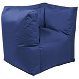 Outdoorsitzsack Valley B: 90 cm Blau - Blau, Basics, Kunststoff (90/65/60cm) - Ambia Garden
