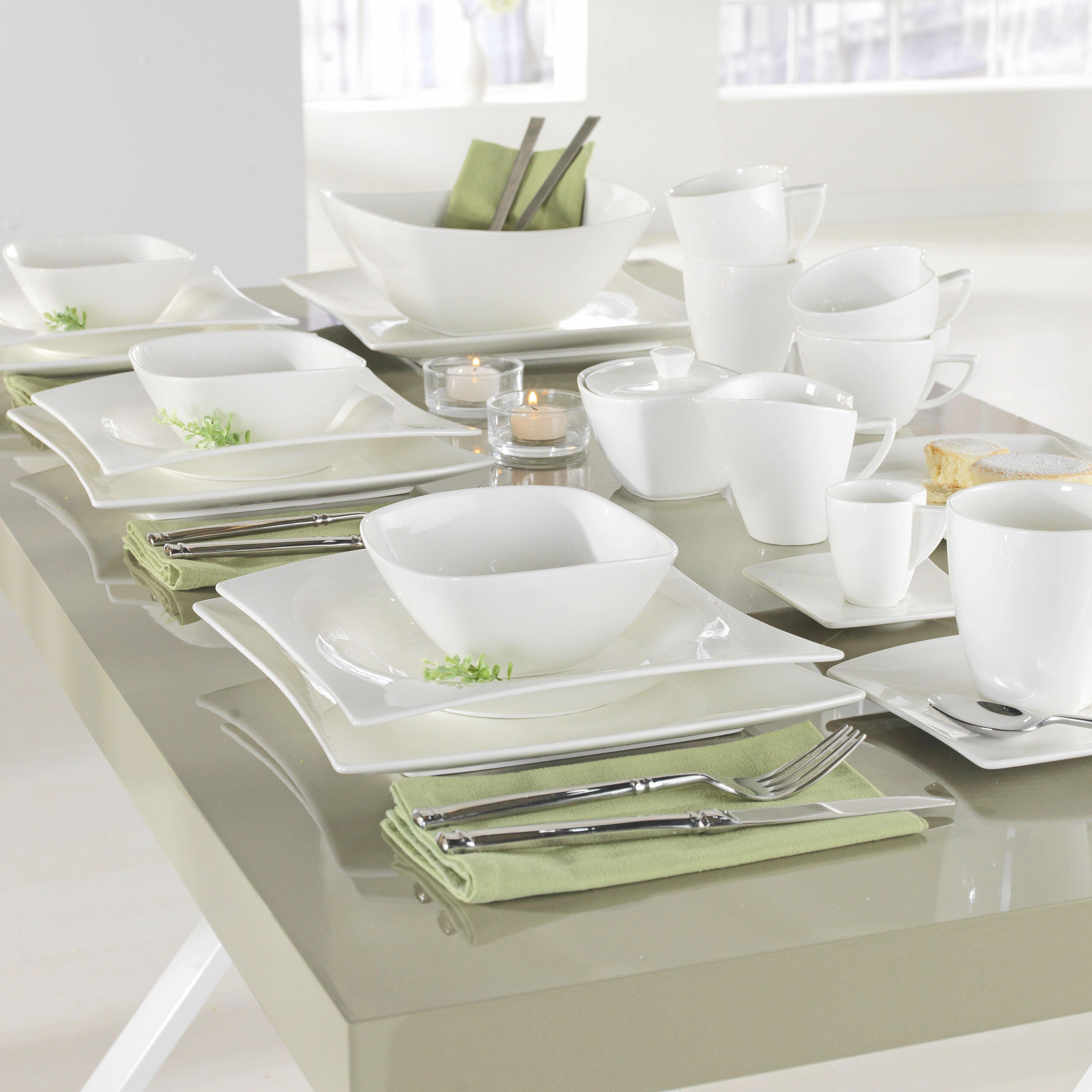 Cukřenka Tacoma -top- - bílá, Lifestyle, keramika (11/7,4/11cm) - PREMIUM LIVING