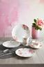 Tafelservice Mirabella - Rosa/Weiß, ROMANTIK / LANDHAUS, Keramik - James Wood