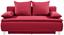 Boxspringsofa Marlene B: 208cm - Rot, MODERN, Holz/Textil (208/100/106cm) - Luca Bessoni