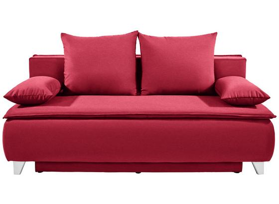 Pohovka Boxspring Marlene - červená, Moderný, drevo/textil (208/100/106cm) - Luca Bessoni