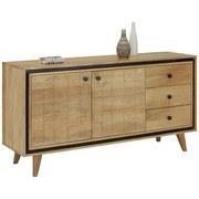 Komoda Sideboard Matrix - hnědá, Lifestyle, dřevo/dřevěný materiál (147/75/40cm) - ZANDIARA
