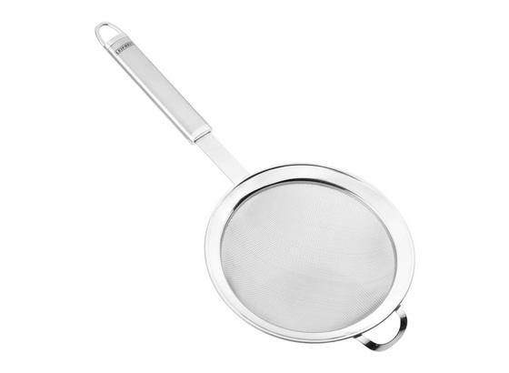 Küchensieb Leifheit - Edelstahlfarben, KONVENTIONELL, Metall (8/5/26cm) - Leifheit