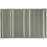 Teppich 120/180 cm Hellgrün, Beige - Beige/Hellgrün, Basics, Textil (120/180cm)