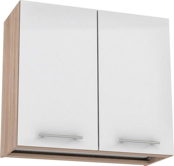 Felsőszekrény Multiforte - Bézs/Tölgyfa, modern, Faalapú anyag/Műanyag (80/72,3/34,6cm)