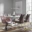 Jídelní Židle S Pružinovým Sedákem Manhattan - barvy chromu/světle hnědá, Konvenční, kov (47/100/59cm) - Modern Living