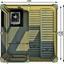 Saunahaus Wwc 2x2 - Naturfarben, KONVENTIONELL, Holz (228,6/228,6/278cm)