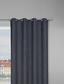Záves S Krúžkami Ulli -eö- -ext- - antracitová, textil (140/245cm) - Mömax modern living