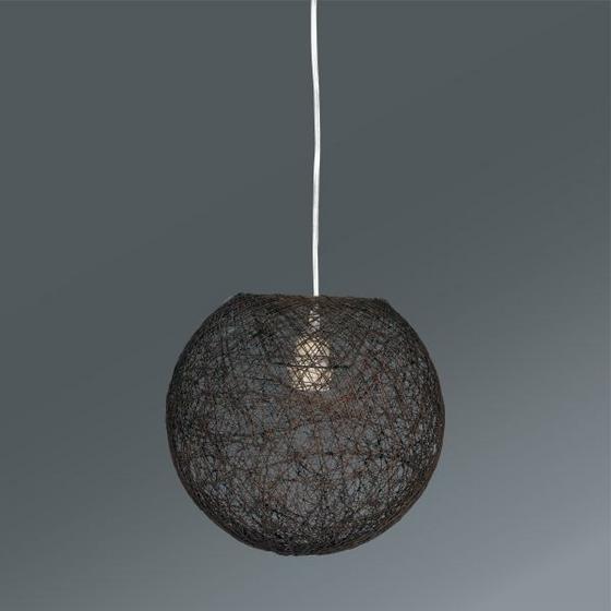 Závesná Lampa Sophia - hnedá, Štýlový, textil (30cm) - MÖMAX modern living