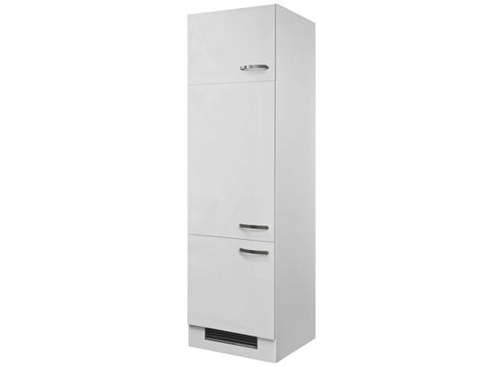 Skrinka Na Spotrebič Alba  Git60 - biela, Moderný, kompozitné drevo (60/200/57cm)