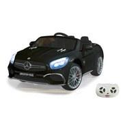 Kinderauto Ride-On Mercedes-AMG SL 65 Schwarz - Silberfarben/Schwarz, Basics, Kunststoff (119,5/75/42cm)