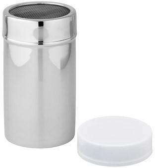 Streuer Inox - Weiß, KONVENTIONELL, Kunststoff/Metall (7/13cm) - Fackelmann