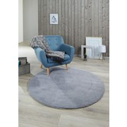 Teppich Blanca - Grau, Textil (150cm) - James Wood